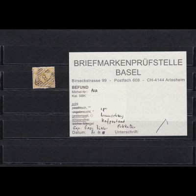 Braunschweig: MiNr. 14 A gestempelt