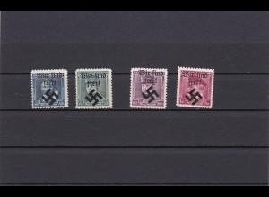 Sudetenland Mährisch-Ostrau, MiNr. 6-9, *