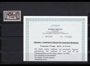 Albanien: MiNr. 13 VI, postfrisch **