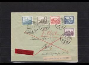 DR: Weimar 1932, Eilbote aus Landhut nach Basel