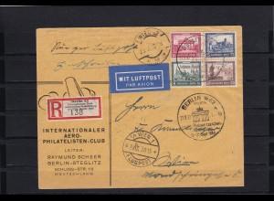 DR: Luftpost Berlin IPOSTA nach Wien