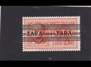 Zara: MiNr. 38 Type II, ** postfrisch,