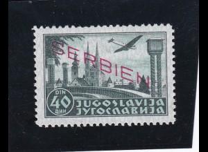 Serbien: MiNr. 24 B, **