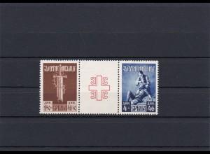 Serbien: MiNr. 90, 91 II, postfrisch **