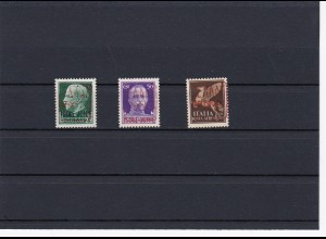 Zante: MINr. 1-3 II, **, Flugpostmarken