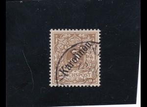 Karolinen: MiNr. 1/I, gestempelt, Ponape 1899, BPP Attest