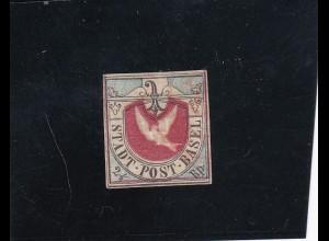 Schweiz: 1845, Kantonalpost Basel, MiNr. 8a, gestempelt, SBPV/ASEP Attest