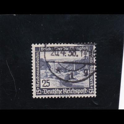 Deutsches Reich: MiNr. 641x, gestempelt, BPP Signatur