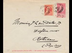 Belgien: 1906: Bruxelles to Rotterdam
