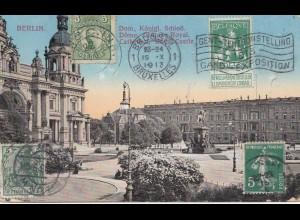 Belgien: 1913: Ansichtskarte Berlin: -Drucksache-