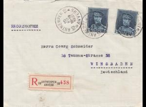 Belgien: 1931: Antwerpen nach Wiesbaden