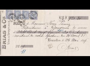 Belgien: 1897: Bruxelles