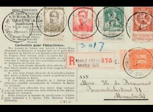 Belgien: 1922: Baarle to Maastricht