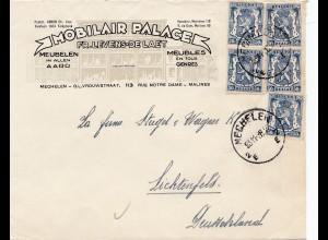 1938: Mechelen to Deutschland - Möbel-Meublelen-Meubles