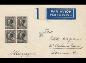 Belgien: Brief nach Wilhelmshaven - Luftpost