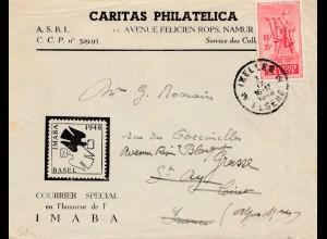 Belgien: 1948: Ixelles IMABA