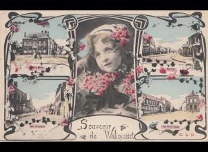 Belgien: 1916: Feldpost: Souvenir de Walincourt