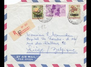 Belgisch-Kongo: 1963: Leopoldville nach Liège