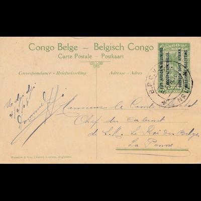 Belgisch-Kongo: Ansichtskarte Deutsch-Ostafrika