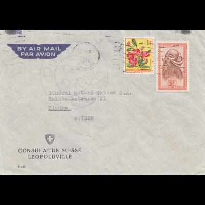 Belgisch-Kongo: Consulat de Suisse Leopoldville