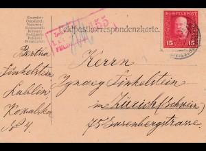 1917: Bosnien: Lublin nach Zürich - Zensuriert