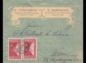 1900: Bosnien-Banjaluka nach Wien