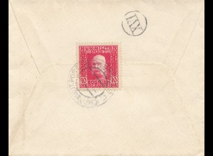 1915: KuK Militärpost - Sarajevo nach Nürnberg
