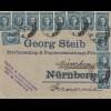 Bulgarien 1922: Brief von Sofia nach München - Papier-Briefumschlag