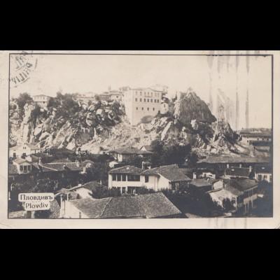 Bulgarien 1929: Ansichtskarte Plovdiv