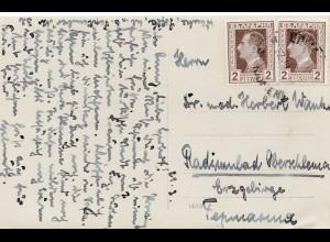 Bulgarien 1939: Ansichtskarte Schumon Tombulmoschee