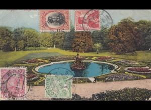 Bulgarien 1912: Rundsendung: Österreich, Schweiz, Ungarn, Bulgarien