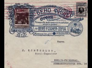 Bulgarien 1916: Brief von Sofia nach Berlin: Foto-Artikel