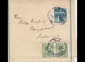 Dänemark: 1920: Streifband von Kopenhagen