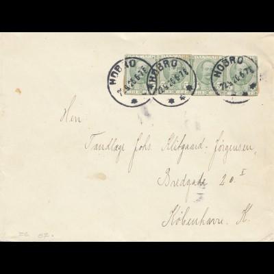 Dänemark: 1926: Brief von Hobro