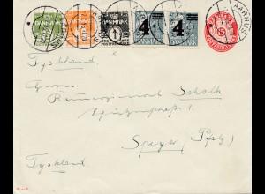 Dänemark: 1935: Ganzsachen Brief von Aarhus nach Speyer