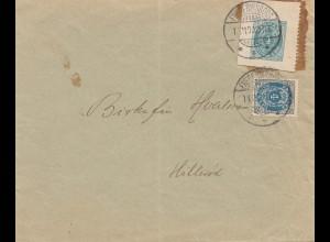 Dänemark: Brief aus Frederiksborg