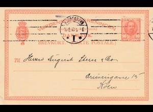 Dänemark: 1913: Kopenhagen nach Köln