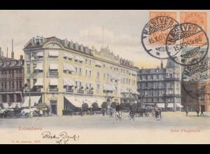 Dänemark: 1904: Ansichtskarte Kopenhagen nach Wien