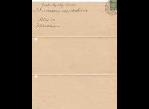 Estland: 1936 Brief von Kuressaare