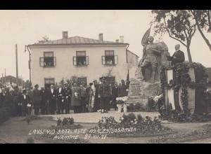 Estland: 1928 Ansichtskarte Avamine