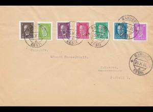 Estland: 1936: Brief Rakvere