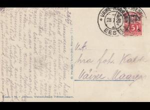 Estland: 1928: Ansichtskarte Väire