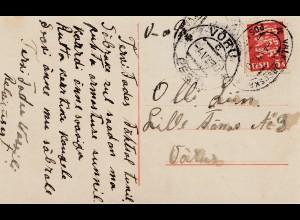 Estland: 1930: Ansichtskarte junges Paar