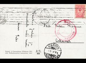 Finnland: 1916: Ansichtskarte Idylle nach Askainen