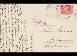 Finnland: 1915: Ansichtskarte nach Askainen