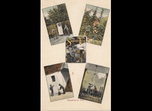 Finnland: 1907: Ansichtskarte Stephan Fix nach Askainen