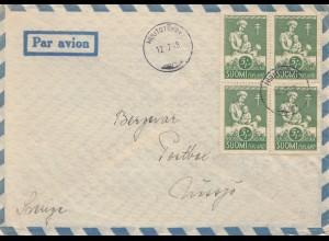 Finnland: 1948: Luftpost nach Schweden