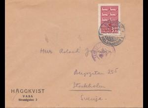 Finnland: 1943: Helsinki nach Schweden
