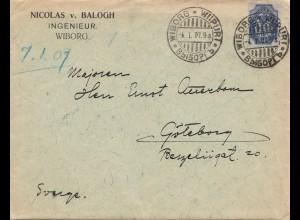 Finnland: 1907: Wiborg nach Schweden