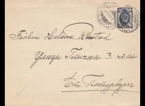 Finnland: 1902: Brief von Helsinki